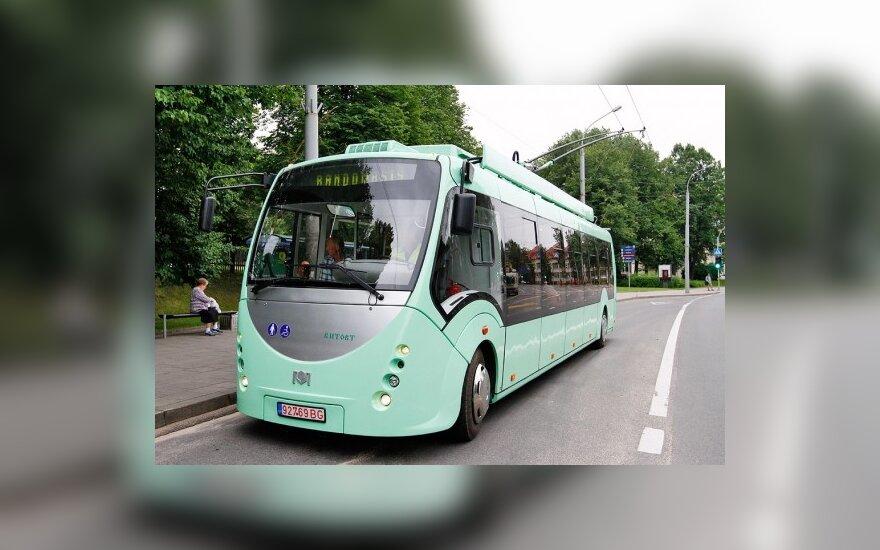"""Троллейбус """"Витовт"""" попал в аварию"""
