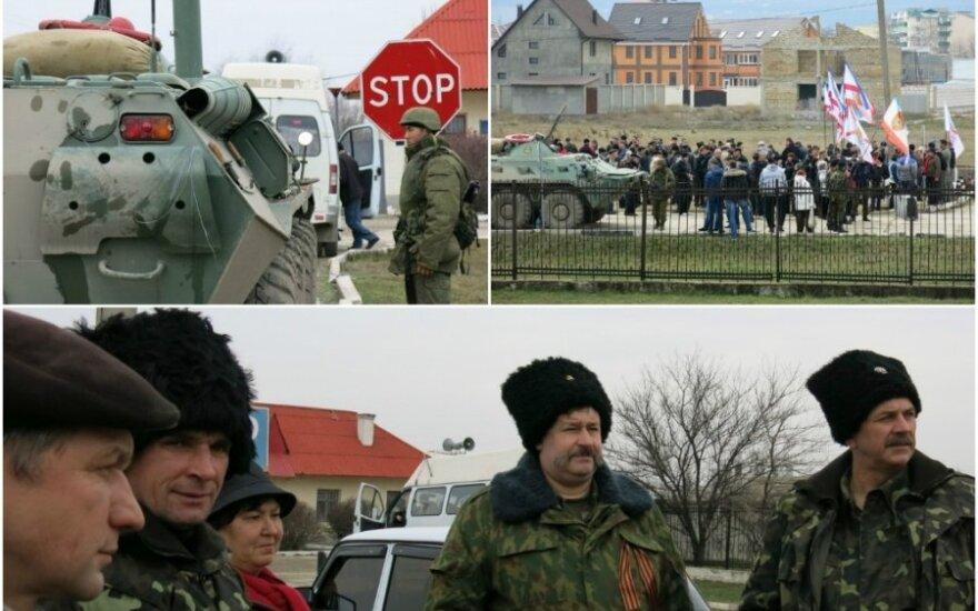 Журналист из Крыма: пугают толпы пьяных казаков, проверяющих документы