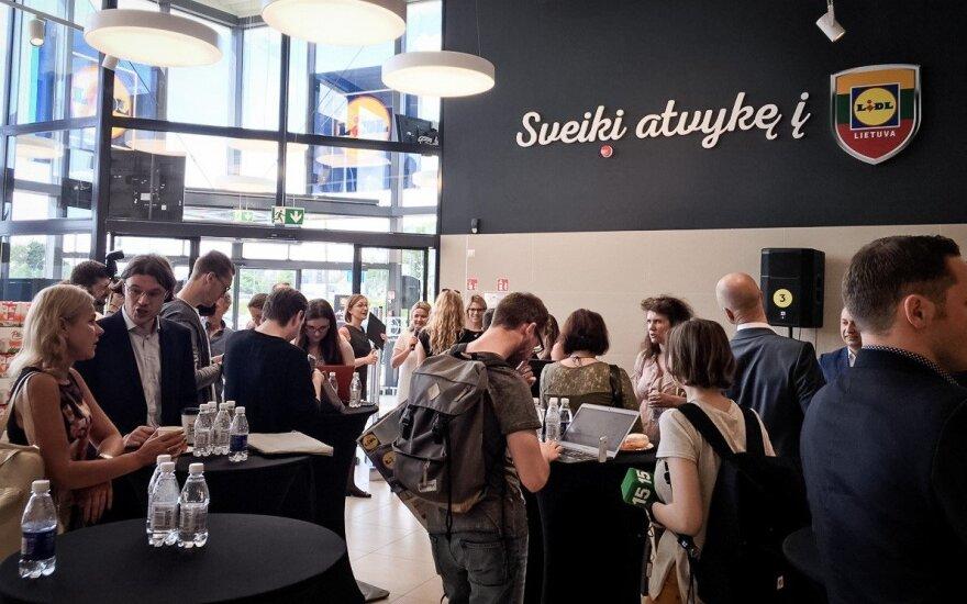 Перед официальным открытием Lidl читатели DELFI могут взглянуть на магазин изнутри