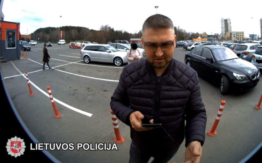Вильнюсская полиция просит помощи – нужно узнать этого человека