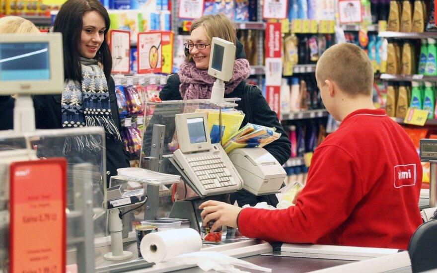 Rimi опережает Maxima в споре розничных торговцев в Латвии