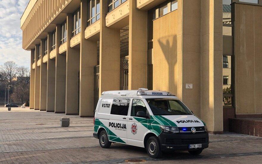 В среду на ноги была поднята полиция, сообщили о бомбе в парламенте