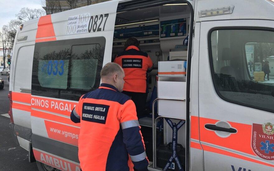 В Вильнюсе автобус переехал выпавшего из него мужчину