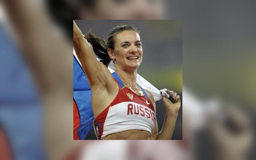 Исинбаева замахнулась на рекорд Бубки