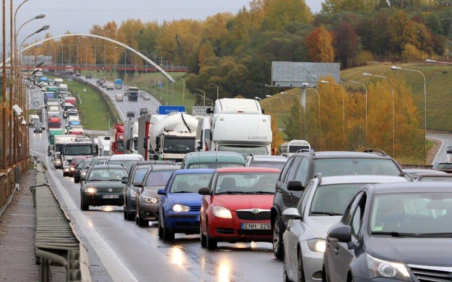 В Каунасе – массовое ДТП стало причиной заторов