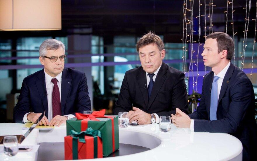 Virgilijus Poderys, Juozas Augutis, Egidijus Purlys