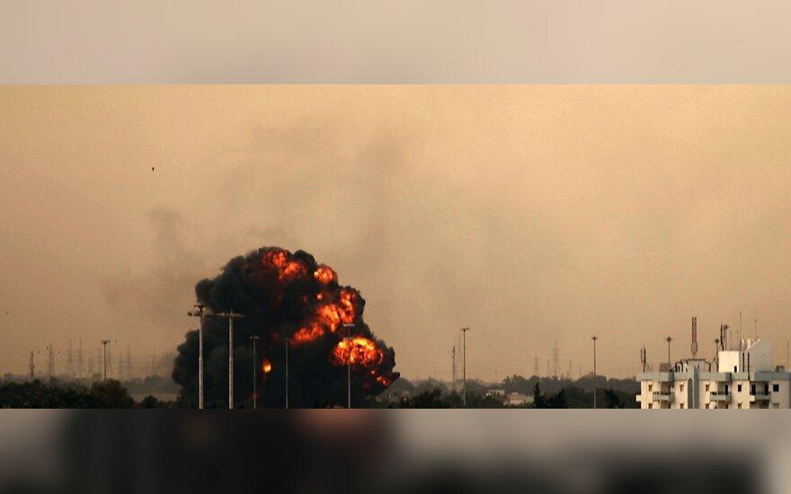 Libijoje atakuojamas Bengazio miestas