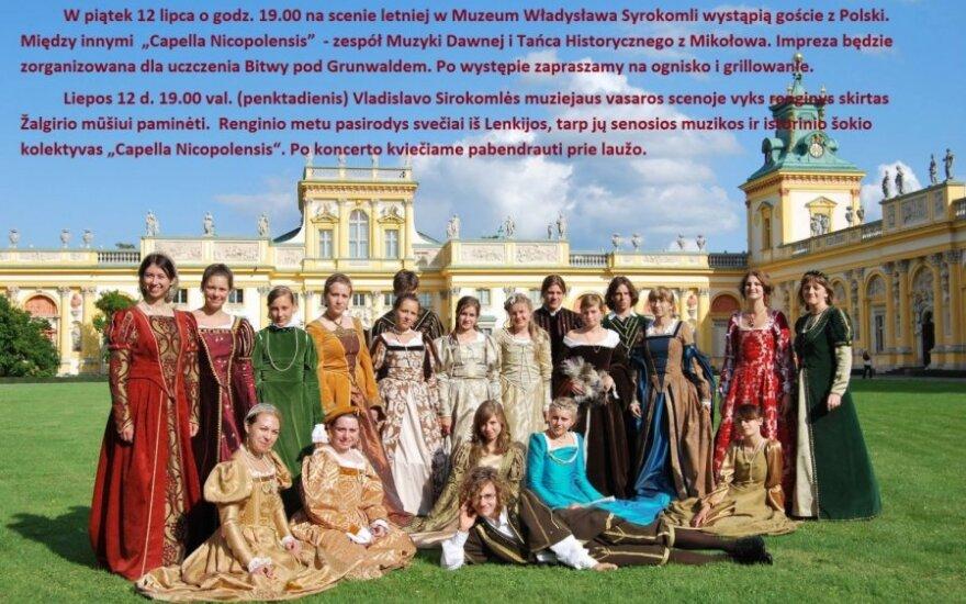 Koncert w Muzeum Władysława Syrokomli