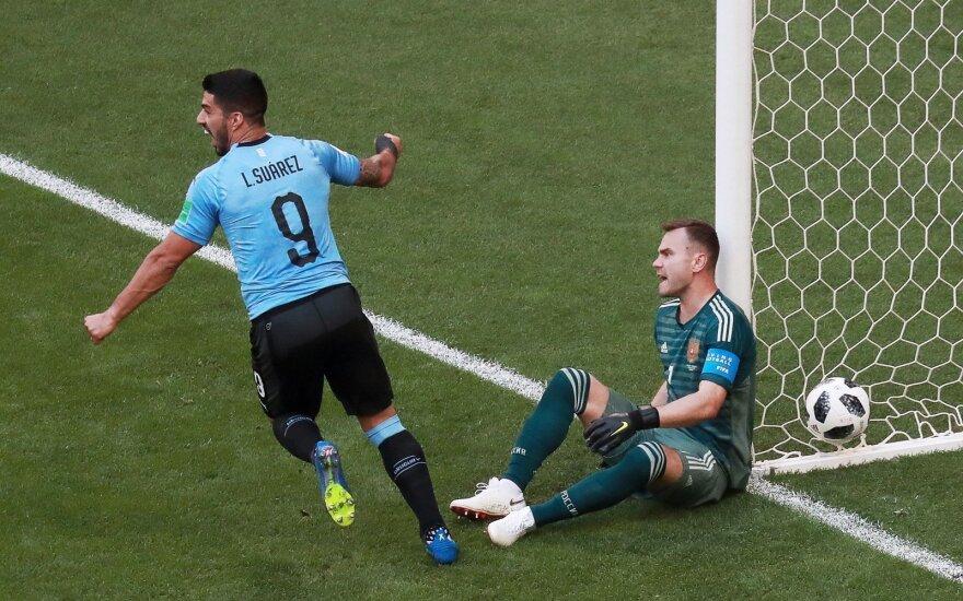 ВИДЕО: Уругвай разгромил сборную России на ЧМ-2018