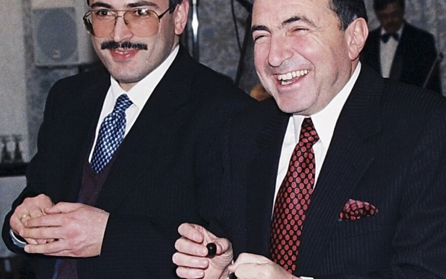 Michailas Chodorkovskis ir Borisas Berezovskis