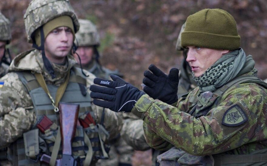 В Украину отправится новая смена литовских военных