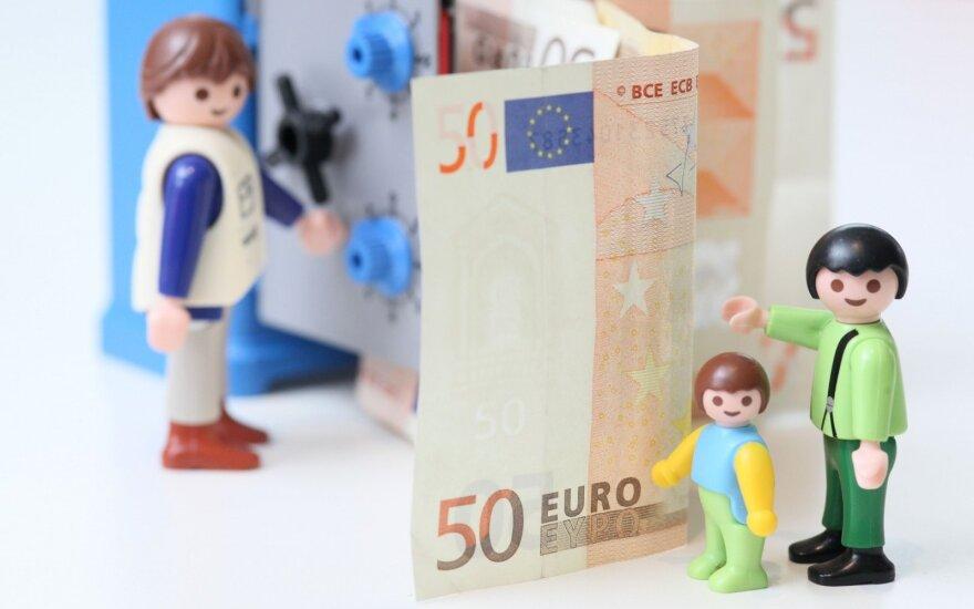 В Литве растет средняя зарплата