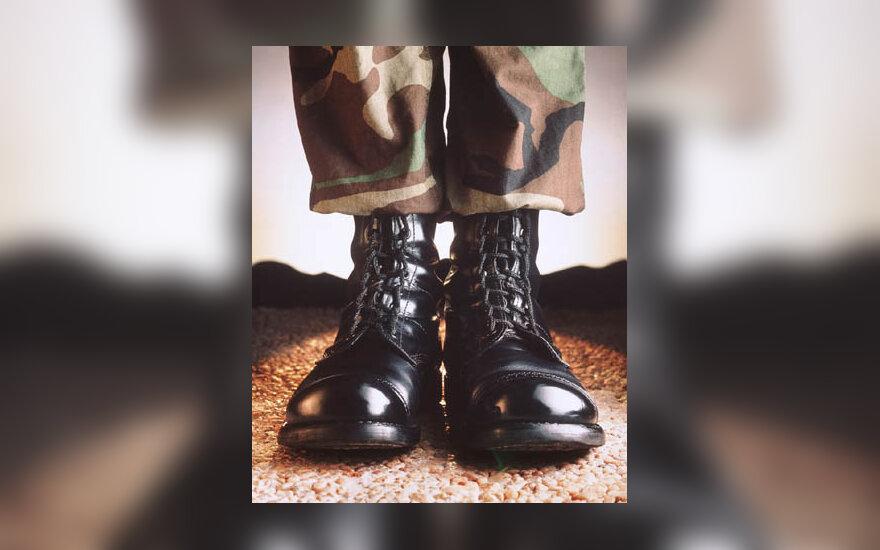 kareivis, kariuomenė, batai