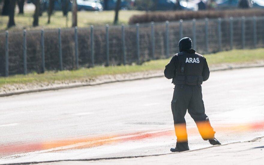 "План ""Щит"" в Шальчининкском районе: найдена 100-килограммовая авиабомба"