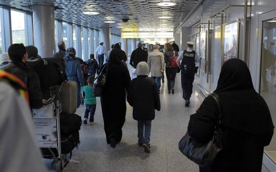 По программе ЕС в Литву перемещено 15 сирийских беженцев
