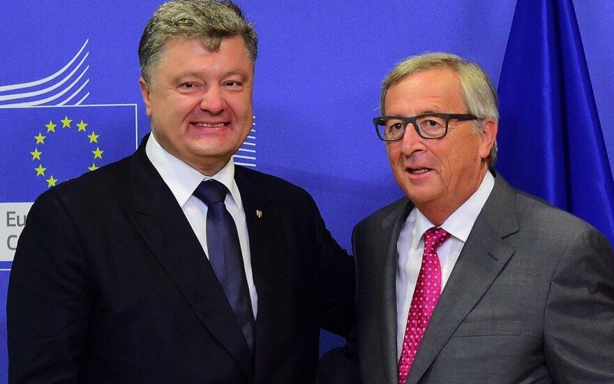 Юнкер надеется, что украинцы скоро смогут ездить в ЕС без виз
