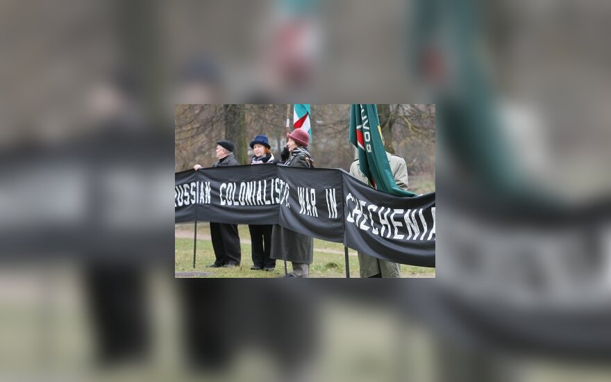 """""""Саюдис"""" пикетировал посольство России в Литве"""