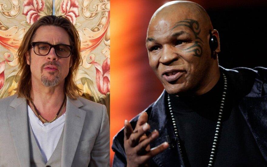 Bradas Pittas, Mike'as Tysonas