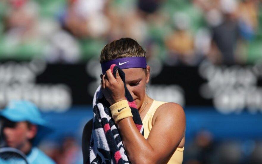Азаренко снялась с турнира в Монтеррее из-за травмы