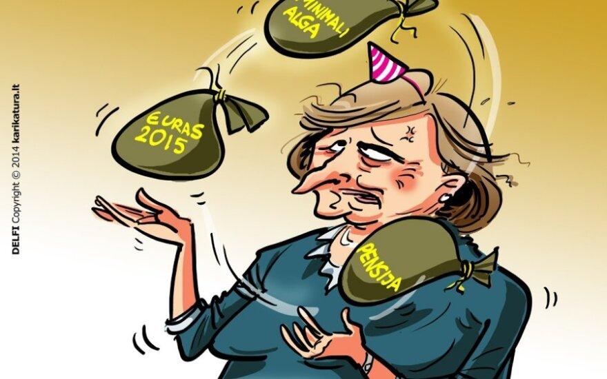 Граужинене: я не противница евро, но нужно посмотреть