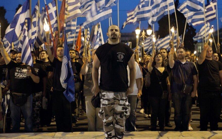 """Афины: неонацисты отметили """"падение Константинополя"""" маршем"""