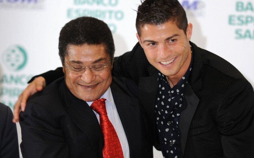 Eusebio ir Cristiano Ronaldo