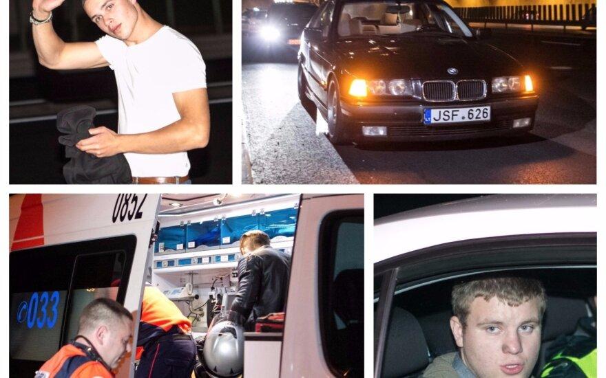 Ночной рейд в Вильнюсе: десятки нарушителей