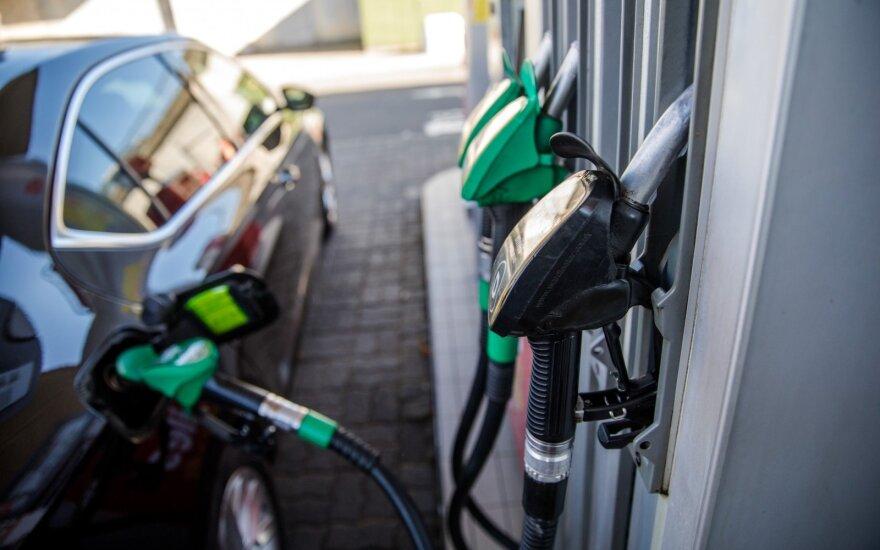 В Вильнюсе цены на автомобильное топливо ниже, чем в Риге и Таллинне
