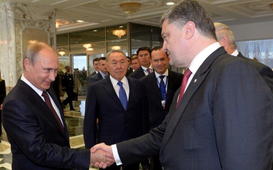 Встреча в Минске: Порошенко назвал условие стабилизации ситуации