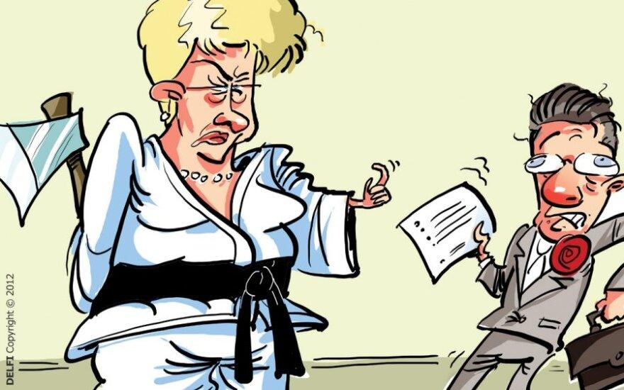 Dalia Grybauskaitė, Algirdas Butkevičius