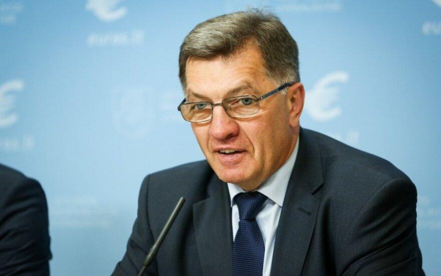 Буткявичюс: Литва интересуется акциями Latvijas gaze