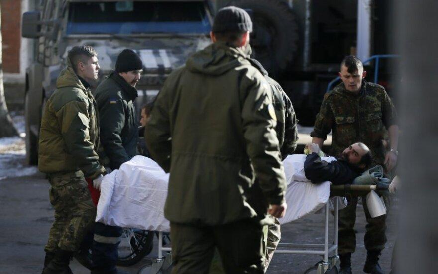 В Литву приедут на реабилитацию еще четверо украинских военных