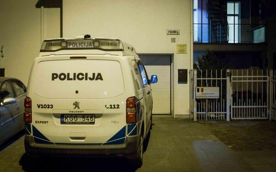 Воры обокрали резиденцию посла Румынии в Вильнюсе