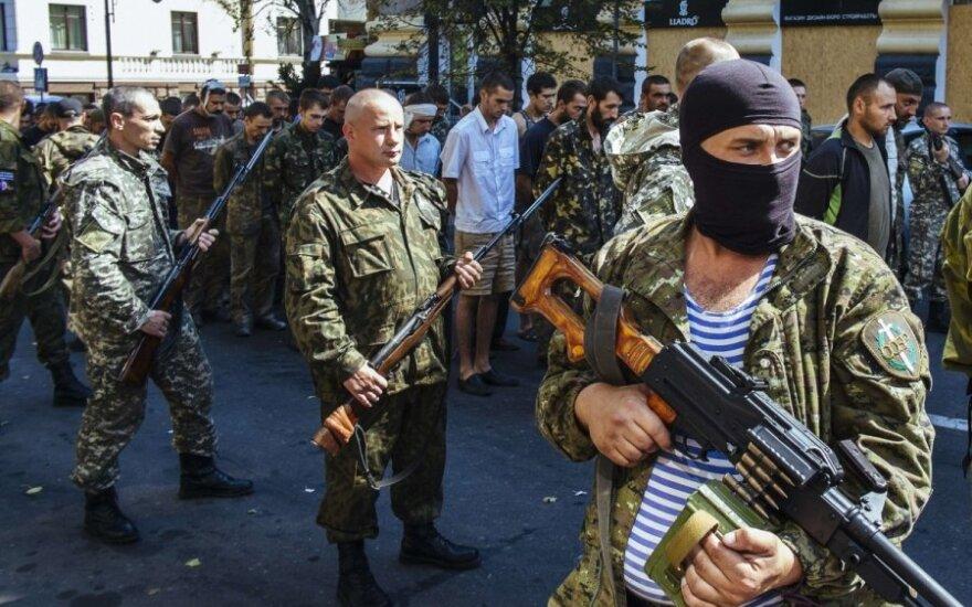Сепаратисты провели по Донецку пленных украинских солдат