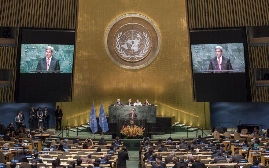 Совбез ООН одобрил подготовленную РФ резолюцию по Сирии