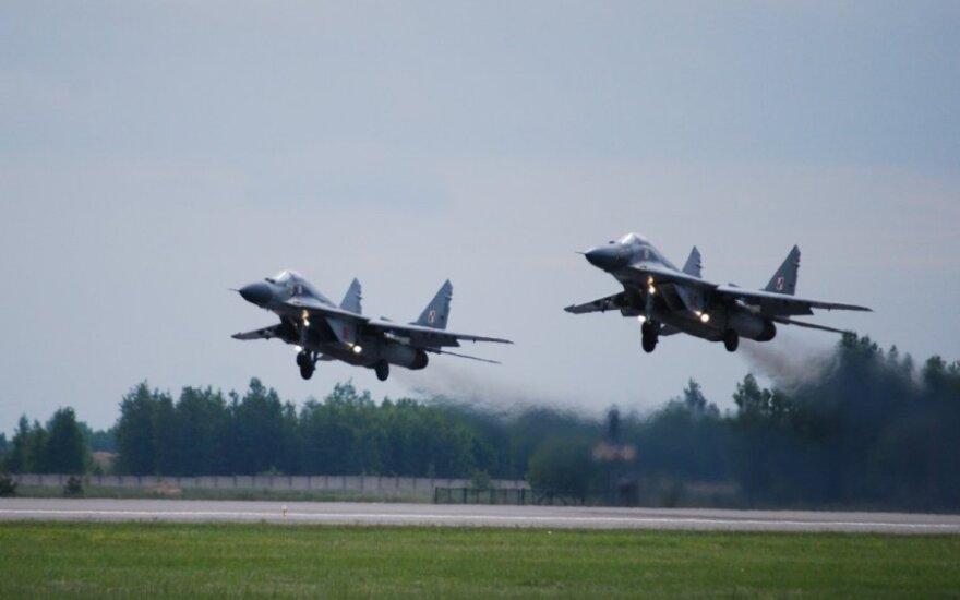 Polskie myśliwce wracają na Litwę