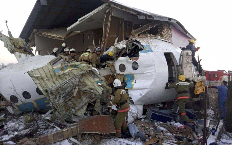 Kazachstane nukrito lėktuvas