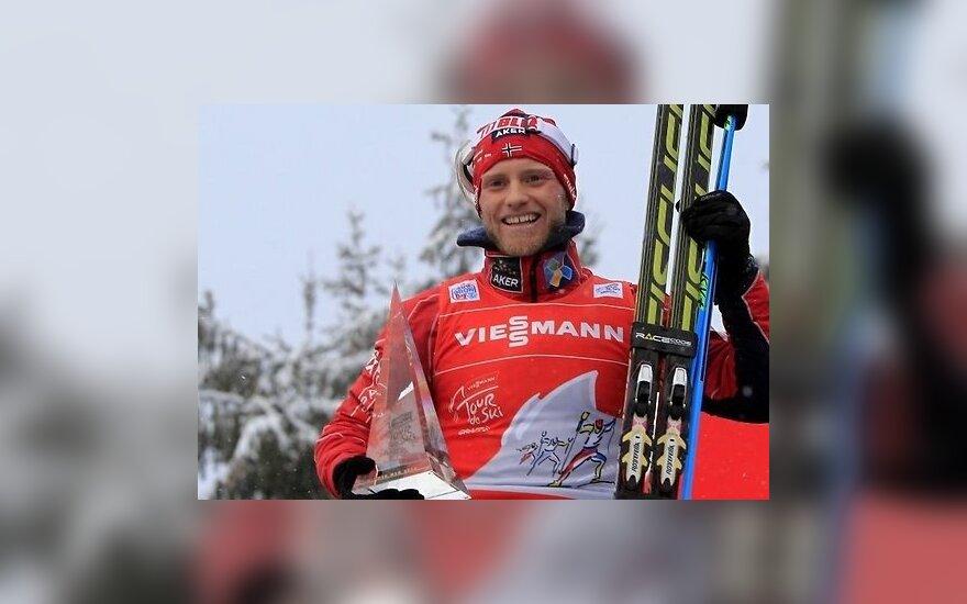 """Норвежцы доминировали на """"Тур де Ски"""", Легков сложил полномочия"""