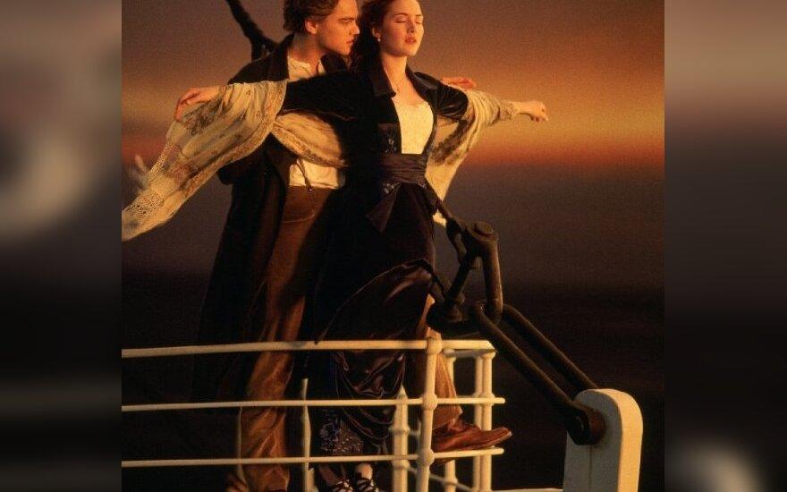 """Kadras iš filmo """"Titanikas"""""""