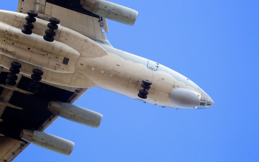 Russian IL-76 military transport aircraft