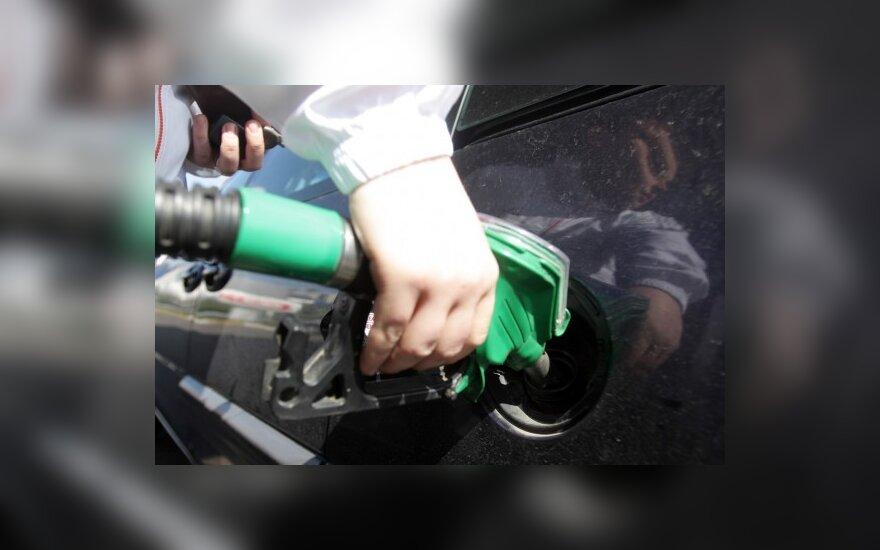 Protesto akcija prieš aukštas degalų kainas