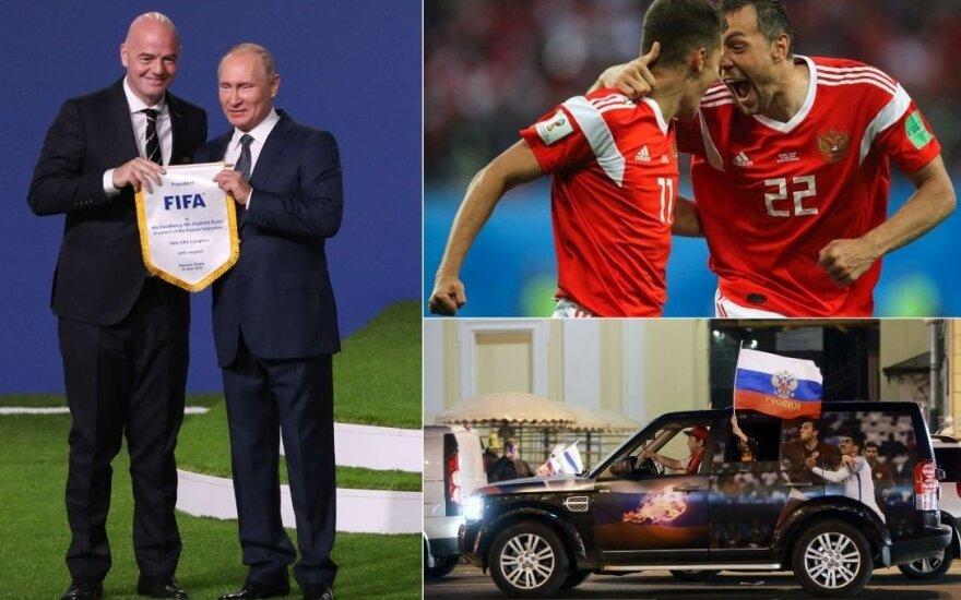Минюст США обвинил Россию в подкупе ФИФА