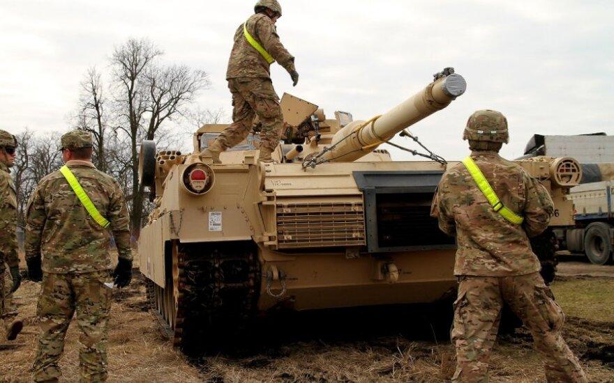 Amerykańskie Abramsy otworzą ogień