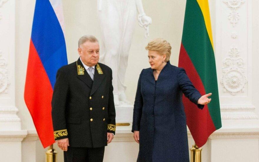 Посол России: Грибаускайте выбрала иной путь