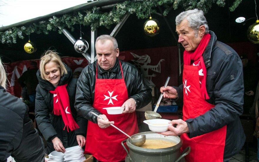 По показателю пожертвований Литва – на предпредпоследнем месте