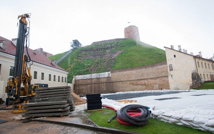 Польские геологи: Гора Гедиминаса пропускает воду больше, чем предполагалось