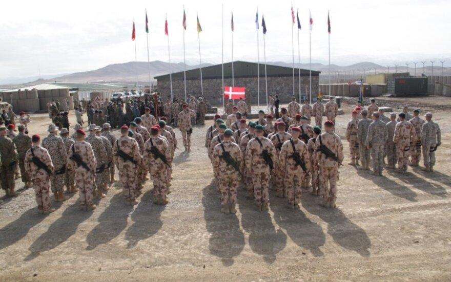 Afganistano Goro provincijoje tarnybą perėmė 14-oji Lietuvos karių pamaina