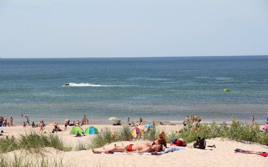 В Литве жара бьет рекорды июня – столбик термометра поднялся до 35,7 градуса