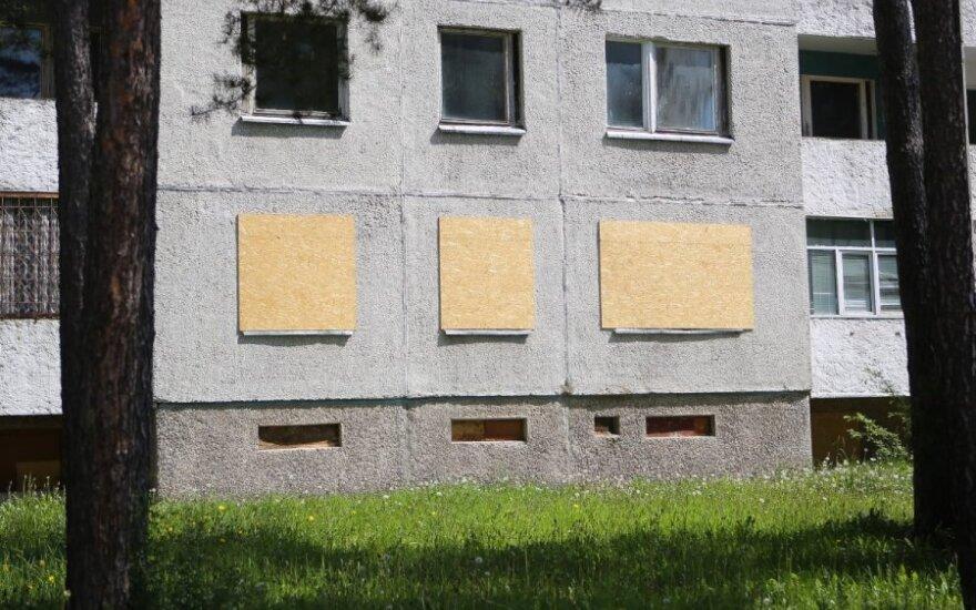 Висагинас: жители выкупили квартиры в пустеющих многоквартирных домах