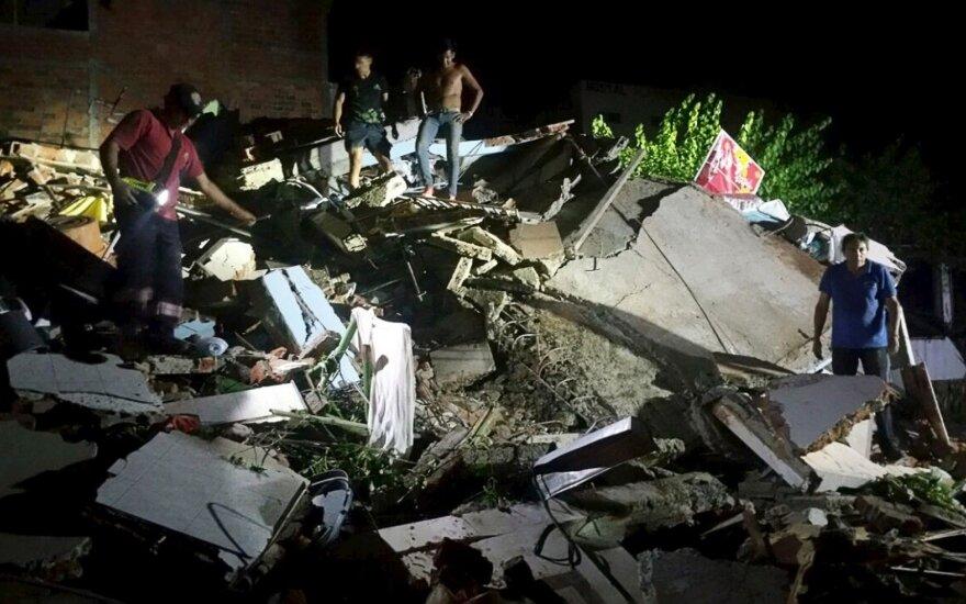 Жителя Эквадора спасли из-под завалов спустя две недели после землетрясения